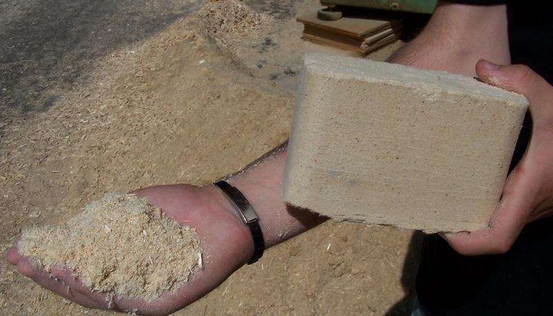 Как сделать из угольной пыли брикеты